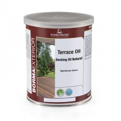 FINISHES FOR TERRACES TERRACE OIL - DECKING OIL NATURAL