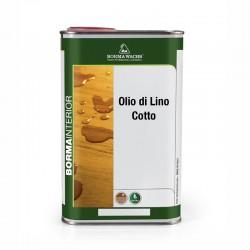 OLIO DI LINO COTTO 100% NATURALE VOC FREE ZERO EMISSIONI